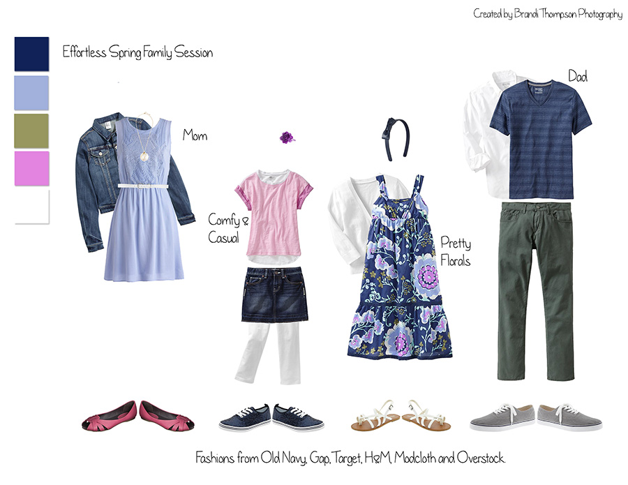 Springtime What to Wear Family Photography, Plano Photographer