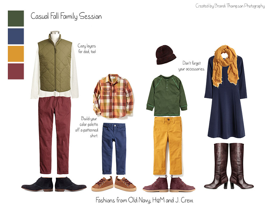 what to wear to your fall family session in plano, tx