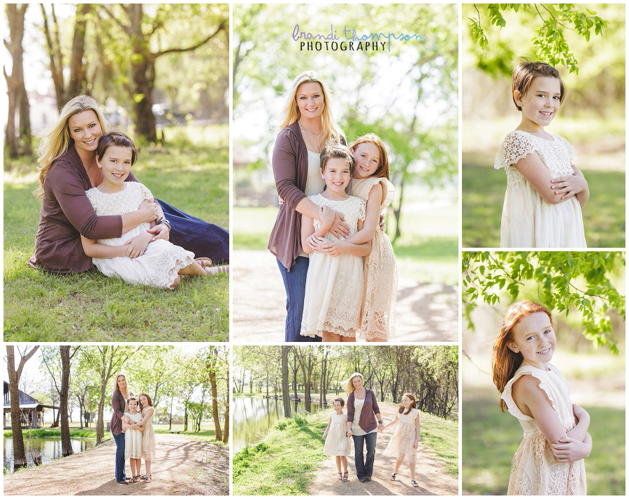 outdoor country family session in plano, tx