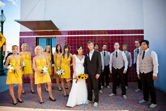 Creative Montage: Guest Post: Dani & Ryan\'s vintage yellow and brown ...