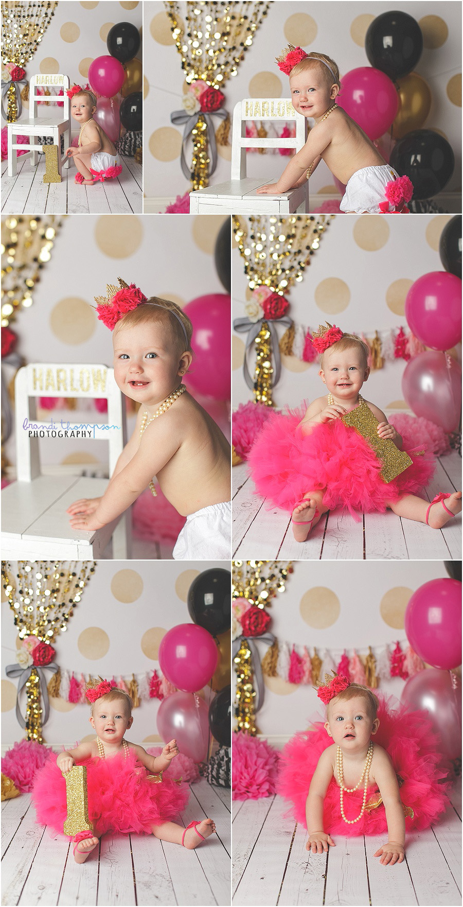 kate spade inspired cake smash, plano first birthday photographer