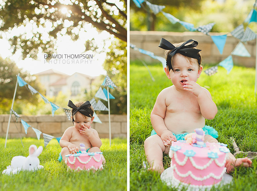 plano frisco mini session, cake smash, alice in wonderland