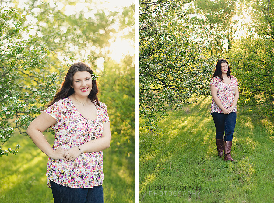 Plano Arbor Hills senior session