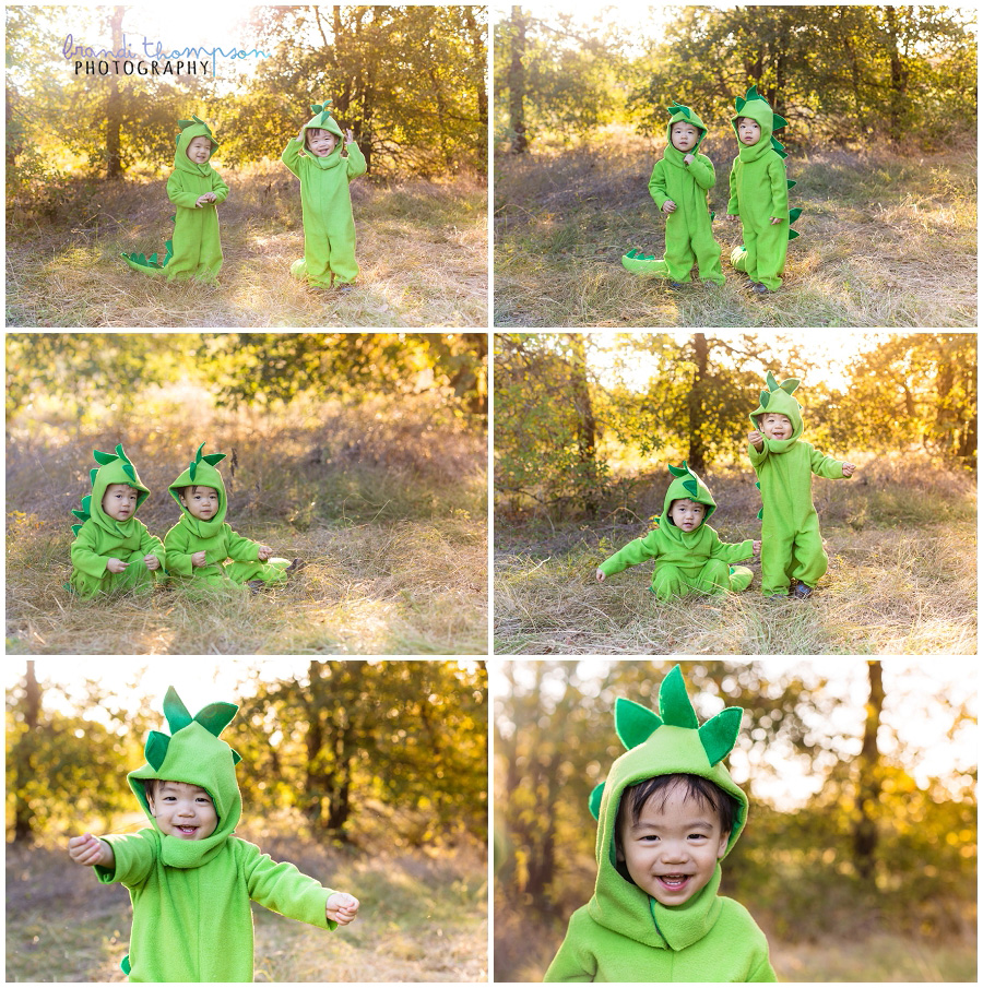 plano family photography at arbor hills with twin toddlers