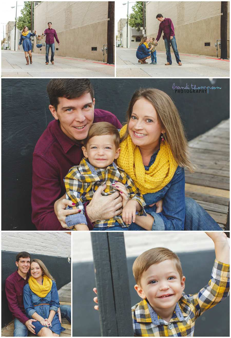 family photography in downtown mckinney, tx