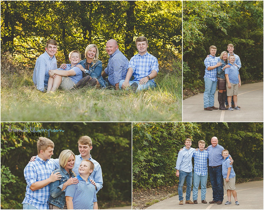 plano family photography at arbor hills nature preserve in Plano