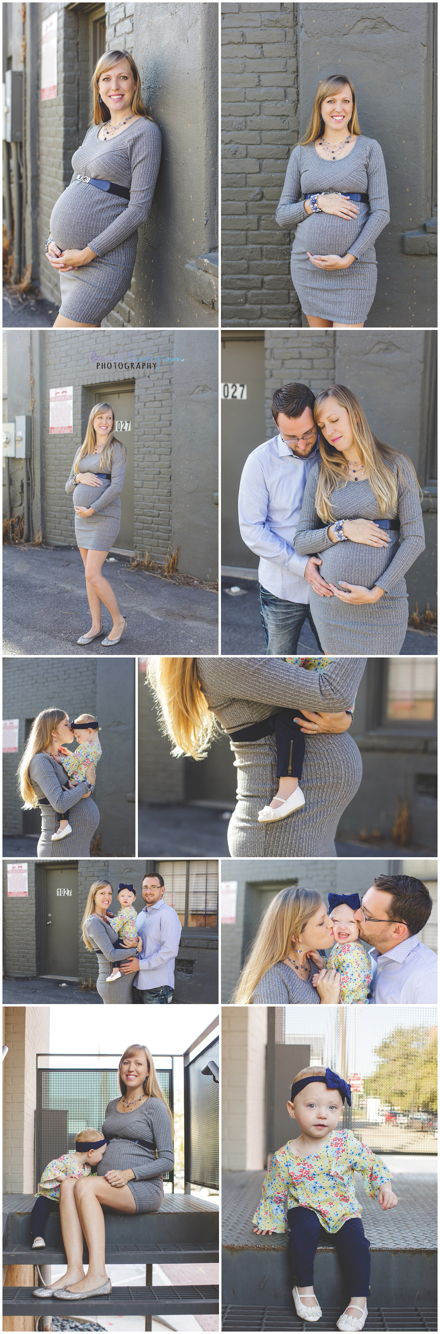maternity photography in downtown plano, tx