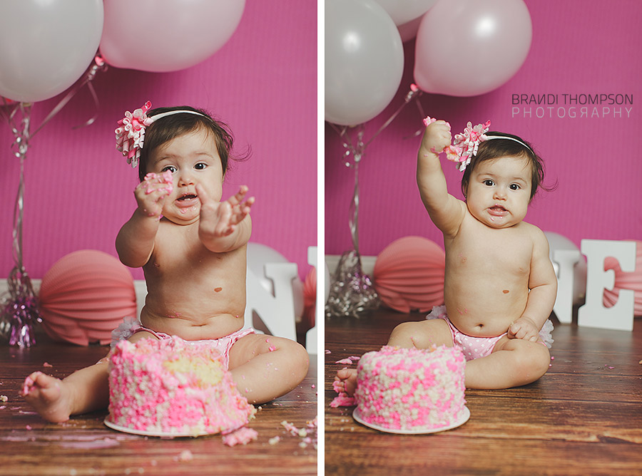 Plano Cake Smash Photography
