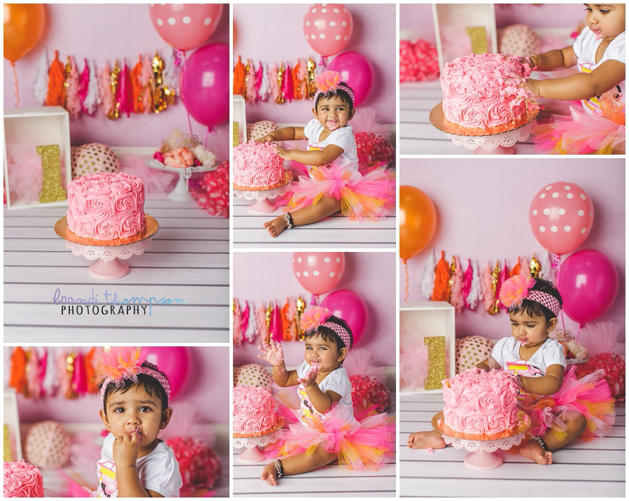 plano cake smash photo studio