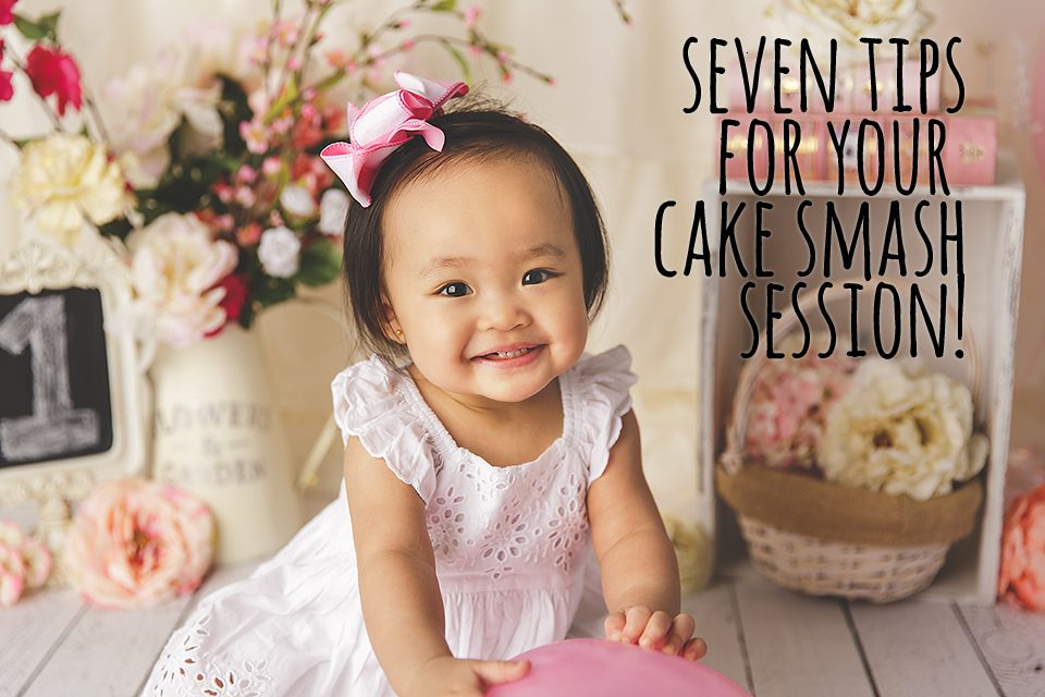 Seven Tips For Your Cake Smash Session