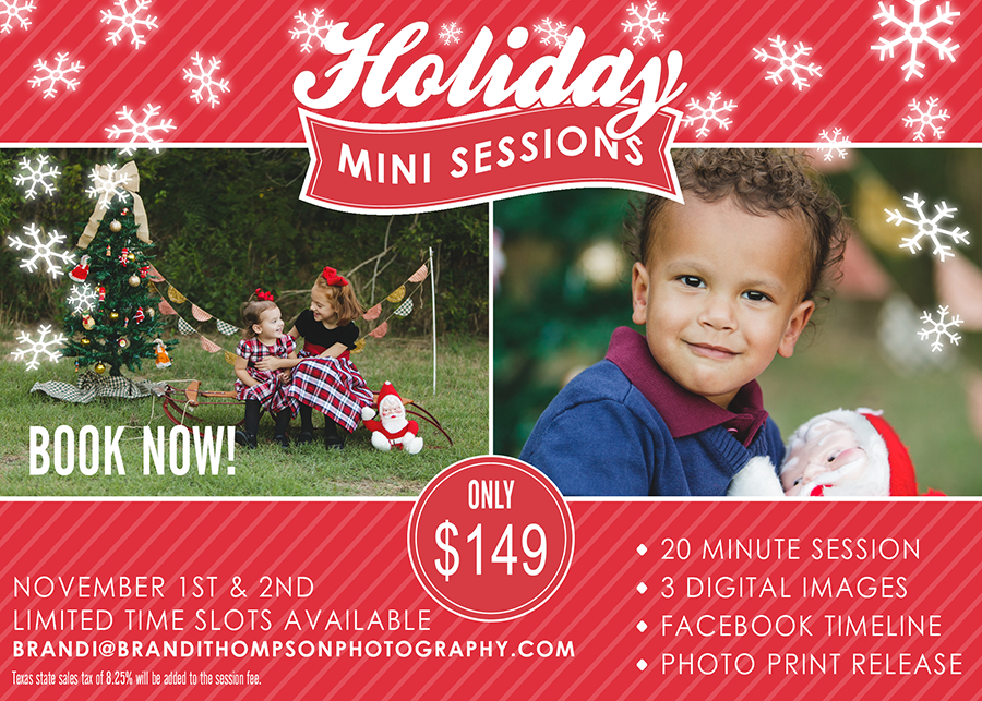 Christmas Mini Sessions.Styled Holiday Mini Session Plano Fall Christmas Mini