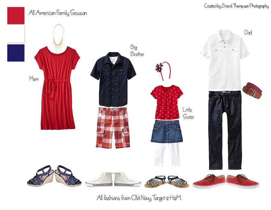 what to wear in  your plano family photography session