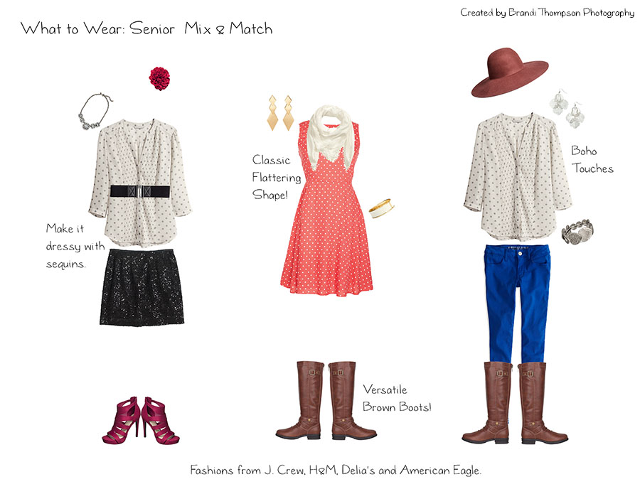 what to wear for a senior photography session