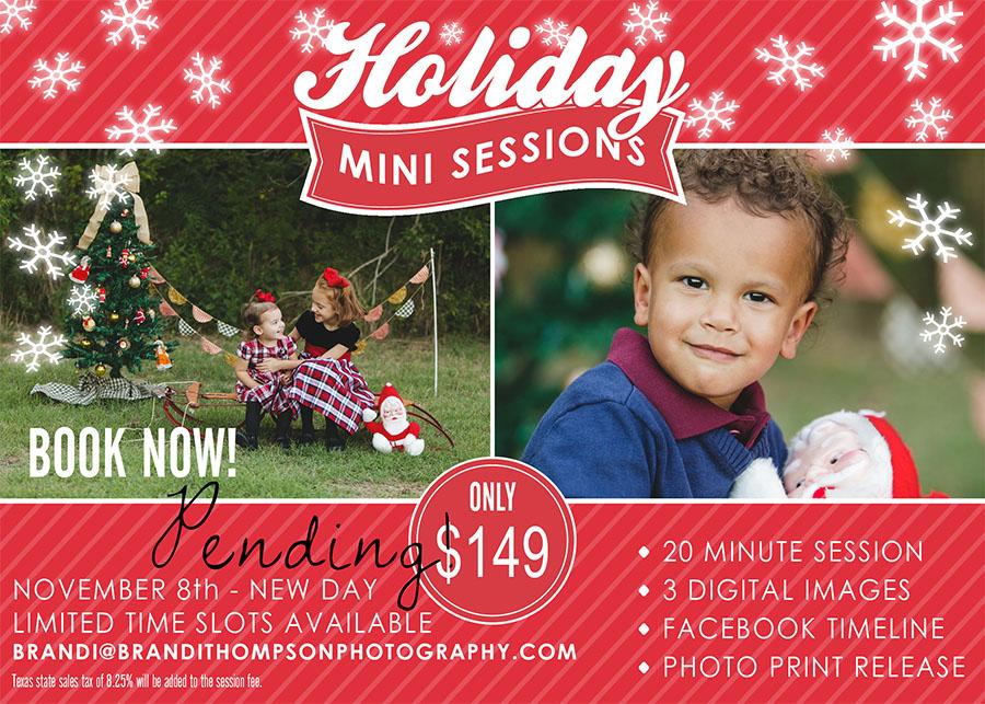 2014 Plano holiday christmas mini sessions