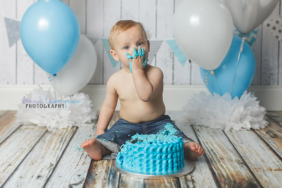 plano cake smash, frisco baby photographer