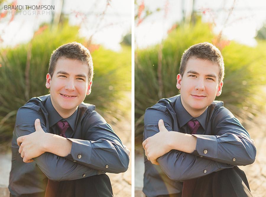 plano senior guy photography