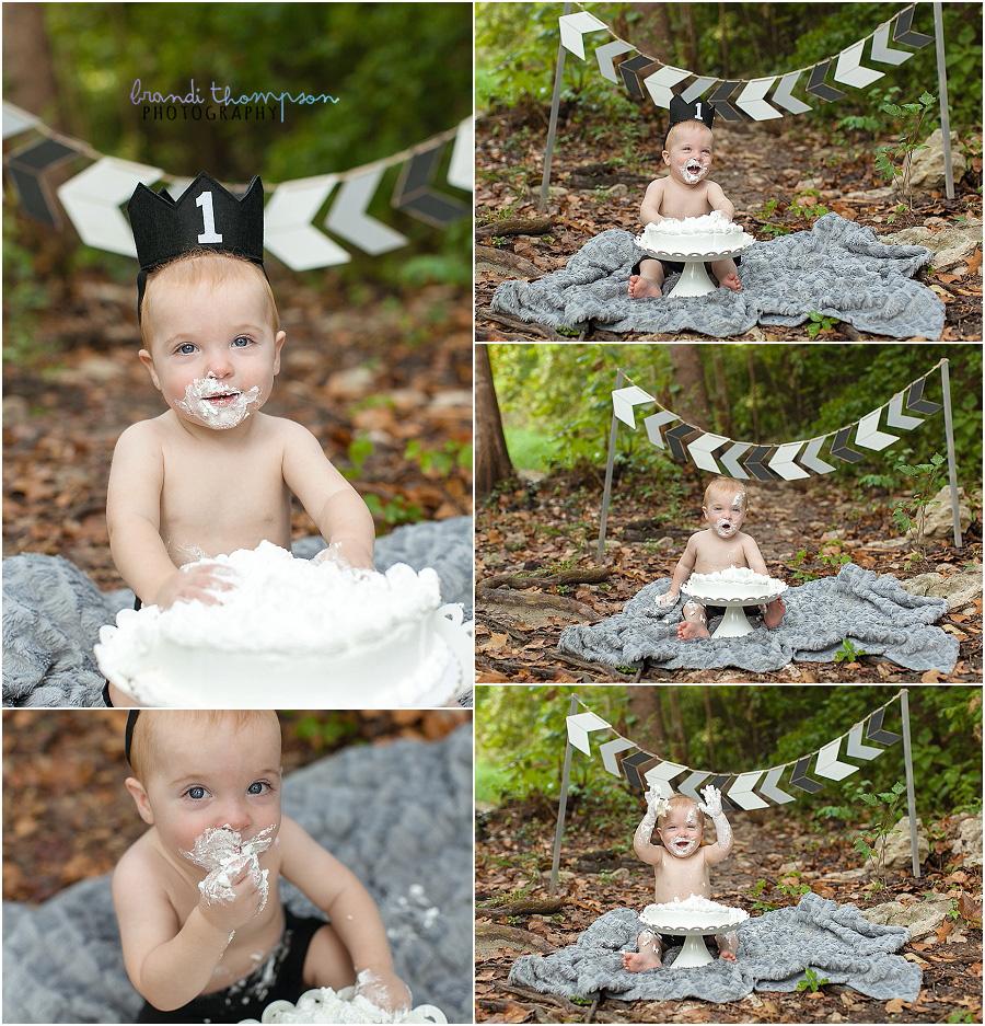 outdoor first birthday cake smash plano, tx