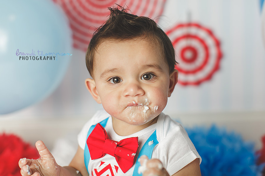 plano cake smash, plano one year photographer