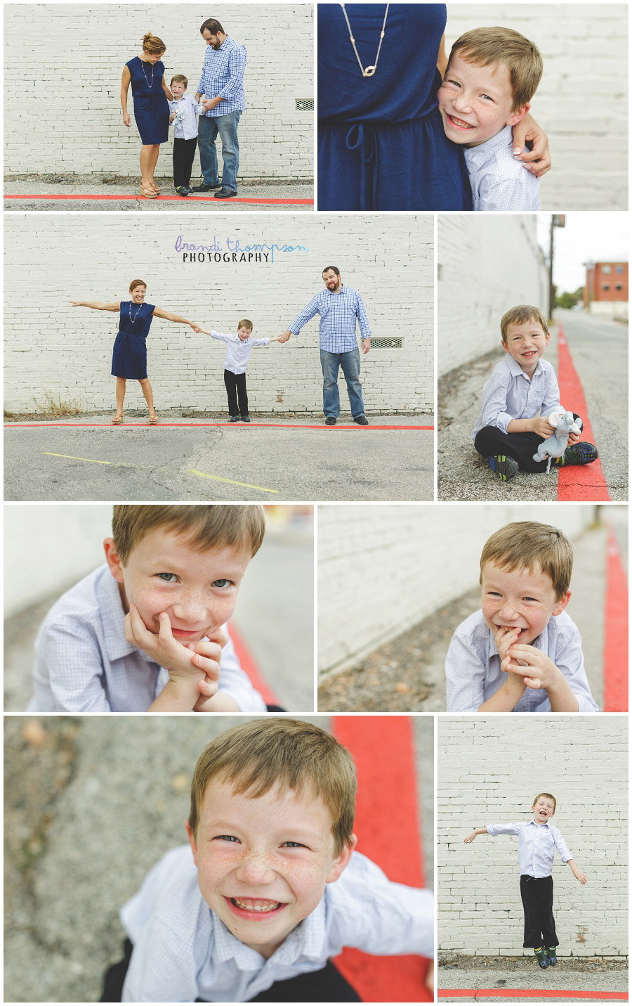 family photos in downtown mckinney, tx