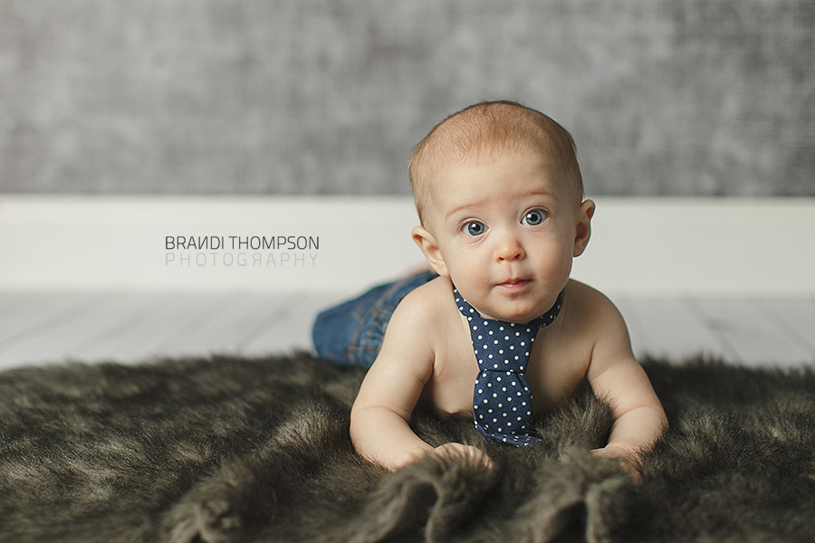 plano baby photographer, six month old baby