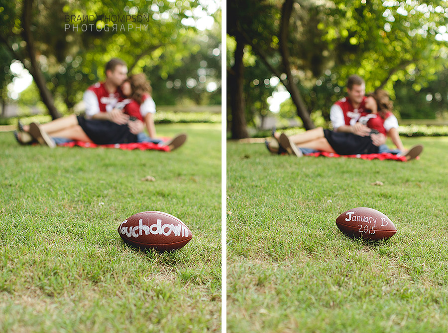 plano maternity photography, pregnancy reveal, razorbacks