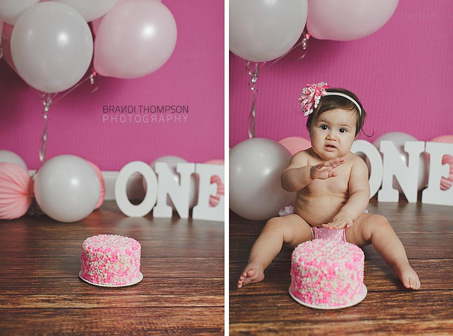 Plano Cake Smash Photography