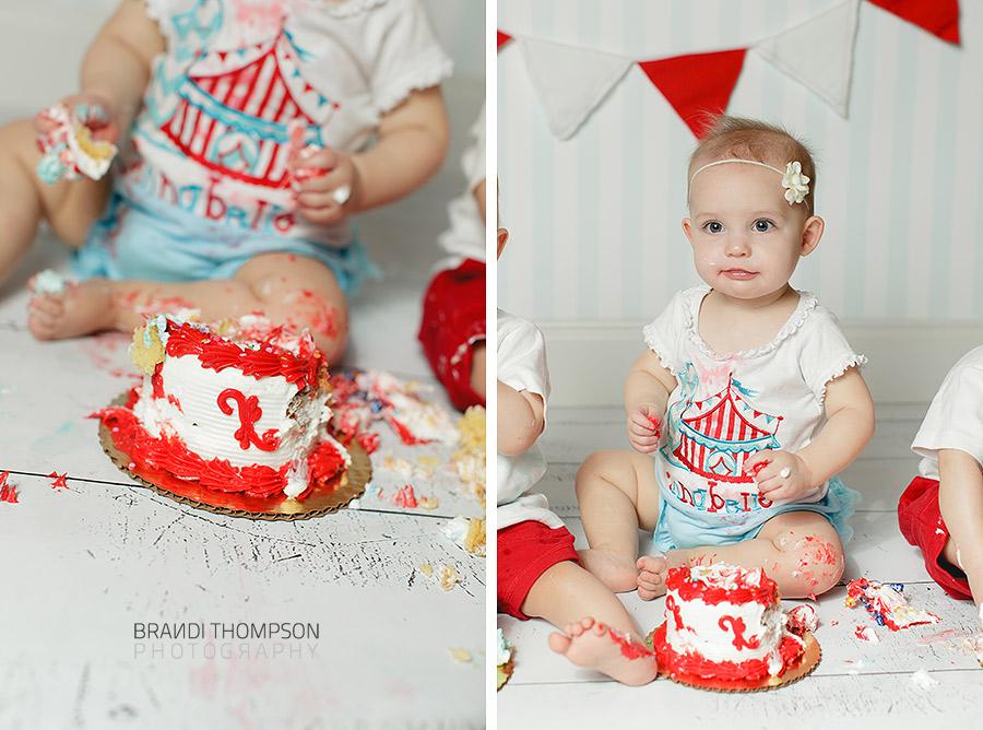 triplet cake smash