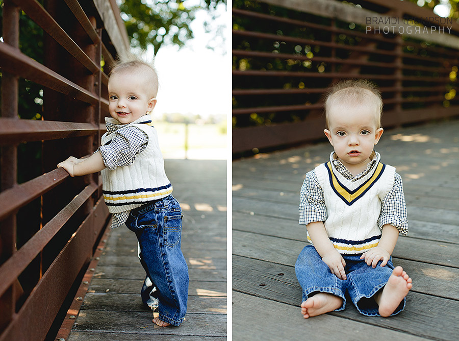 triplets one year photography