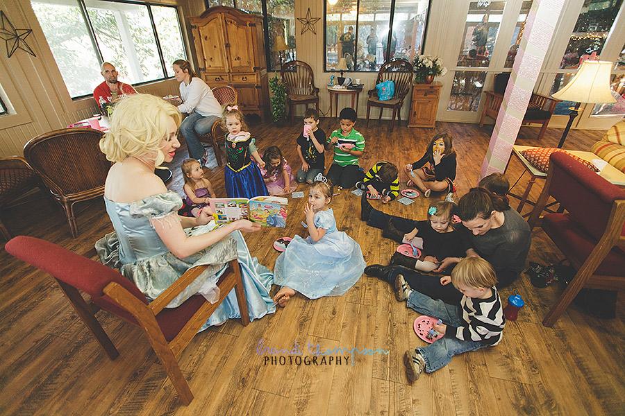 Dallas birthday party photography, Cinderella birthday party