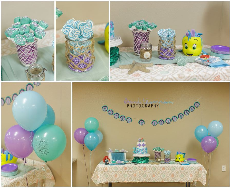 my little mermaid birthday party