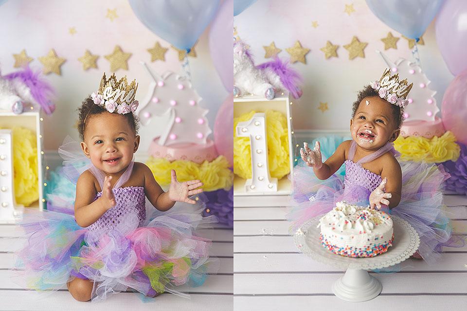 Marvelous First Birthday And Cake Smash Photography Brandi Thompson Birthday Cards Printable Inklcafe Filternl