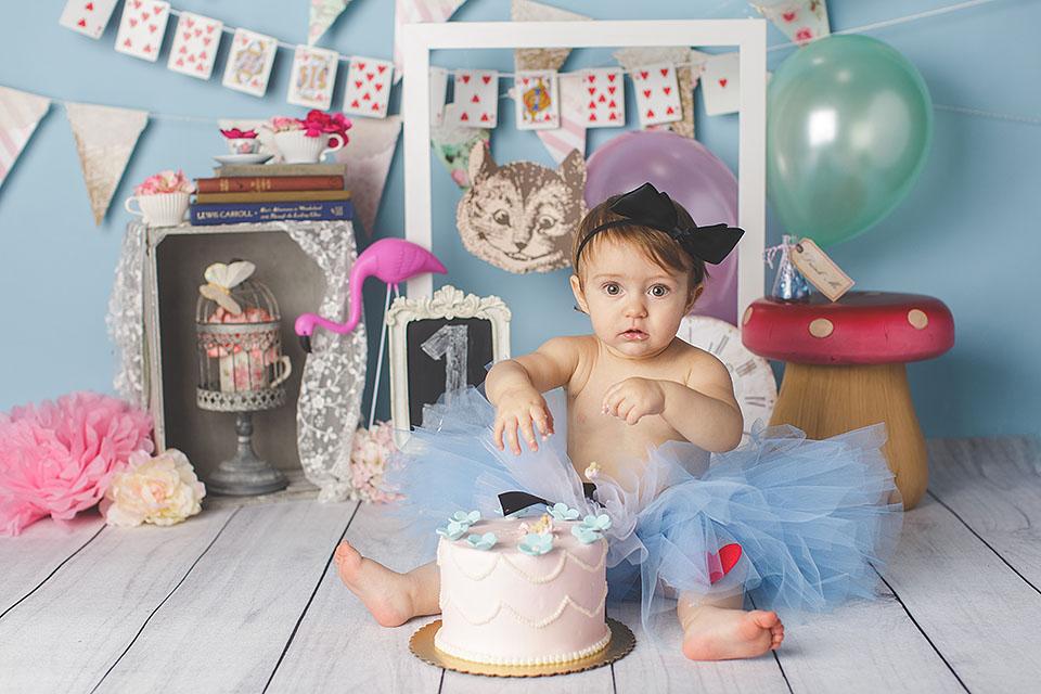 Plano First Birthday Cake Smash Photographer Dallas Frisco