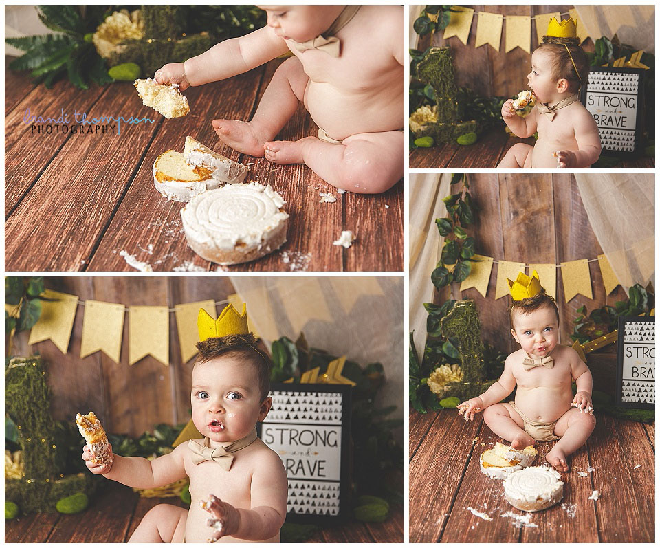where the wild things are inspired cake smash in plano, tx studio